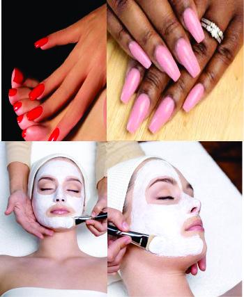 Skin Care & Manicure/Pedicure